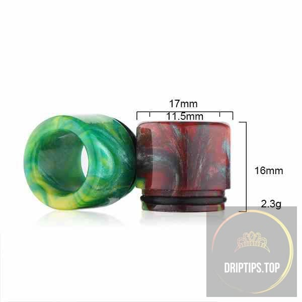 Epoxy Resin Drip Tips For Temple Rda