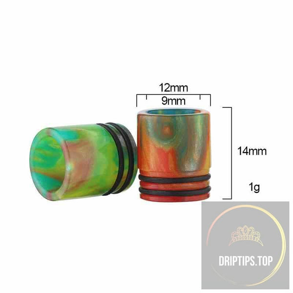 Epoxy Resin Drip Tips For Vengeance (Double O Rings)