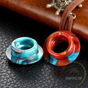 Epoxy Resin Drip Tips For Vgod - Top Cap Style