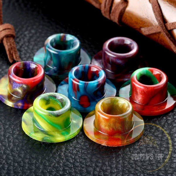 Epoxy Resin Drip Tips For Wotofo The Troll Rta -Top Cap Style