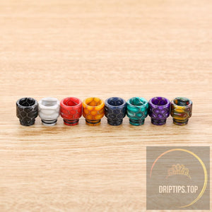 Epoxy Resin Snake Pattern 510 Drip Tips