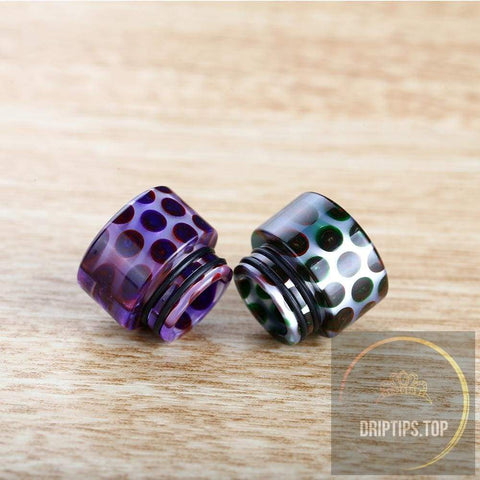 Epoxy Resin Snake Pattern 810 Drip Tips