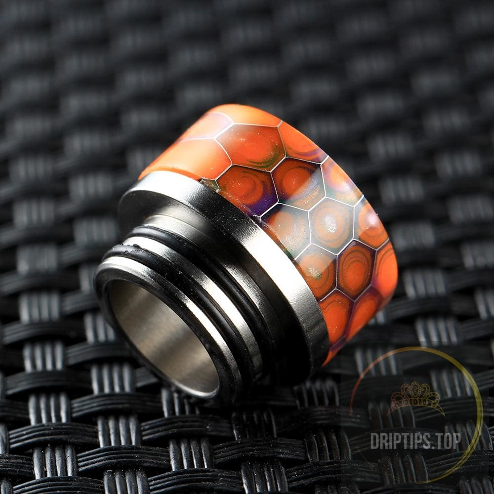 Epoxy Resin Snake Pattern 810 Drip Tips For Tfv8 /tfv12