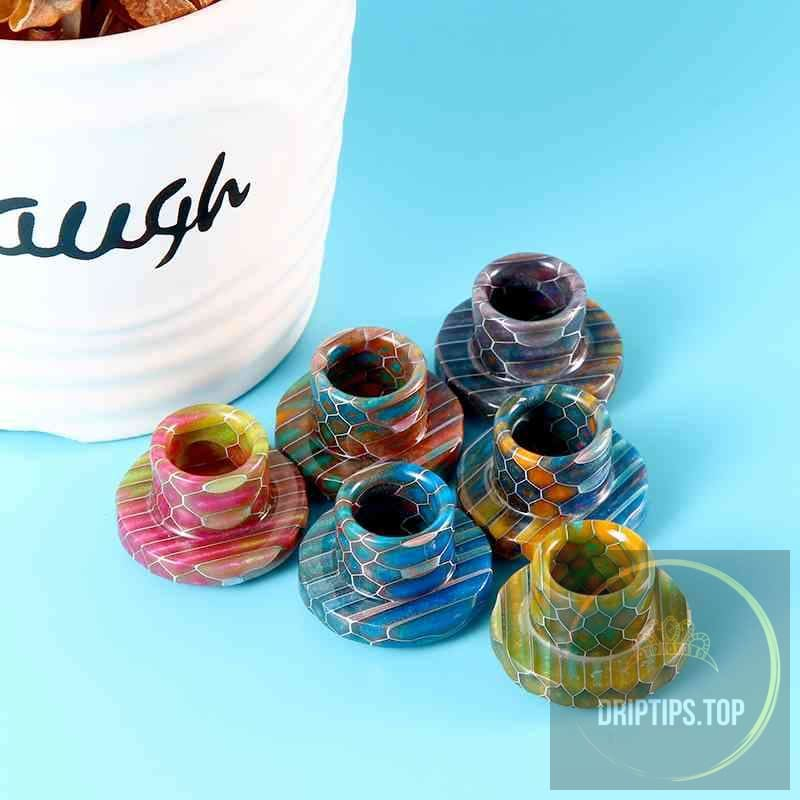 Epoxy Resin Snake Pattern Drip Tips For Cleito 120
