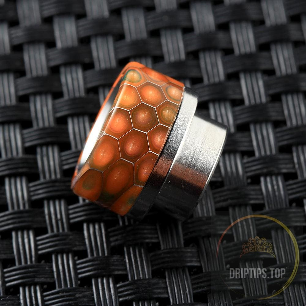 Epoxy Resin Snake Pattern Drip Tips For Kennedy Goon 528