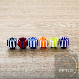 Epoxy Resin Stripe 510 Drip Tips