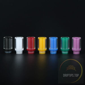 Glass With Acrylic Insert Two Layers Wide Bore Drip Tips
