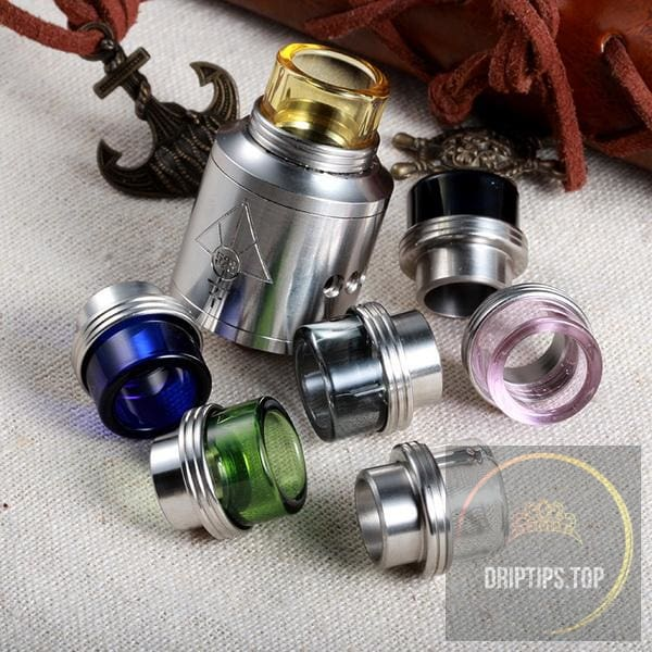 Glass+Ss Drip Tips For Kennedy/goon 528
