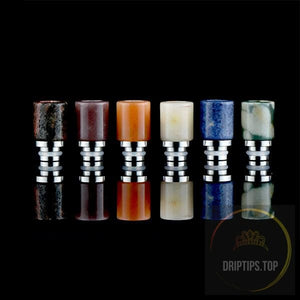 Heat Insulation Jade Stone Drip Tips 510