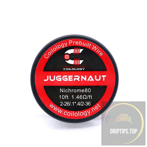 Juggernaut - Coilology Spooled Wire 2-26/.1*.4/2-36 Nichrome80 1.46 Ohm/ft 10 Ft Per Roll