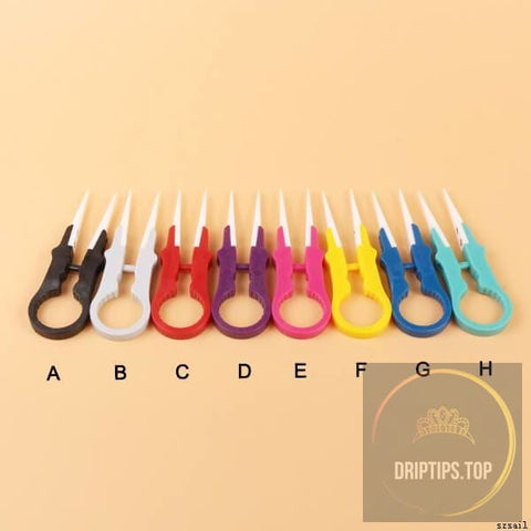 Multifunction Ceramic Vape Tweezers (Tank Atomizer Destruction Tools) - Vaping Accessories