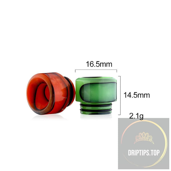 New Epoxy Resin Snake Pattern 810 Drip Tips For Smoktech Tfv8/tfv12