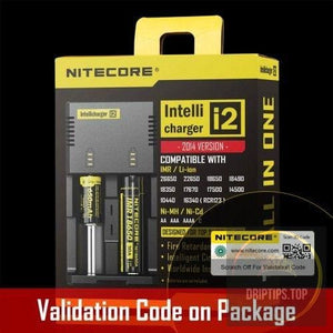 Nitecore Intellicharger I2 Universal Charger For Li-Ion/nimh Battery