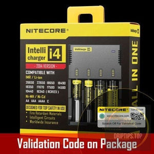 Nitecore Intellicharger I4 Universal Charger For Li-Ion/nimh Battery
