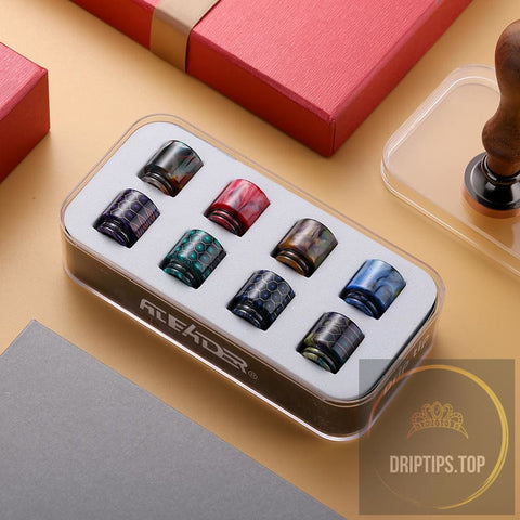 Premium Epoxy Resin 810 Drip Tips Collection Kit A1