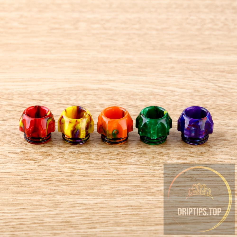 Premium Epoxy Resin 810 Drip Tips For Tfv8/tfv12