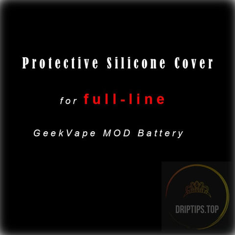 Protective Cover Silicone Case / Rubber Skin For Geekvape Mod Device.