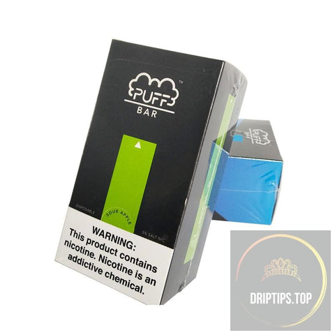Puff Bar 5% Nic-salt Disposable Vape Pen 1 box (10 units) -China Factory Wholesale