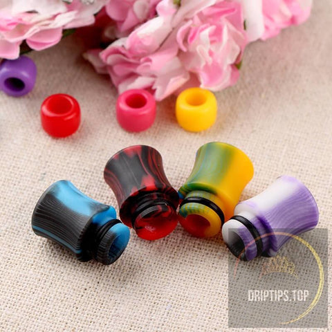 Pure Acrylic Colorful 510 Drip Tips