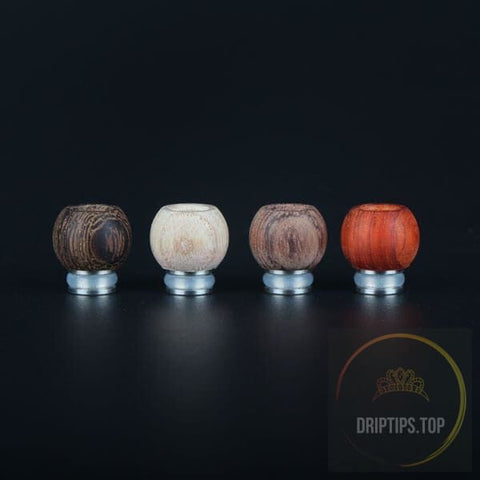 Round Shape Wood 510 Drip Tips