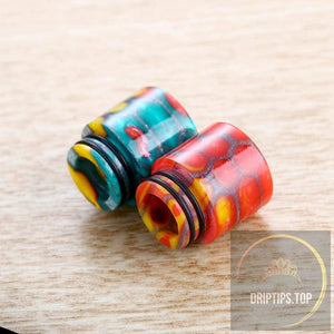 Snake Pattern Resin 810 Drip Tips