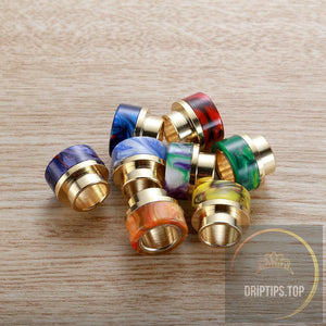 Ss Gilding+Epoxy Resin 810 Drip Tips For Smoktech Tfv8 / Tfv12 Tank (O-Ring Less)