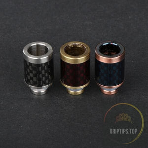 Ss Hat With Carbon Fiber 510 Drip Tips