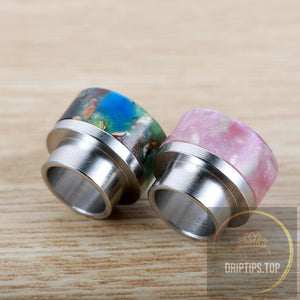 Ss+Epoxy Resin Floral 810 Drip Tips For Kennedy Goon 528