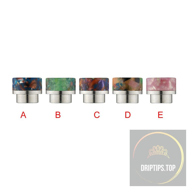 Ss+Epoxy Resin Floral Drip Tips For Kennedy Goon 528-Sl119C
