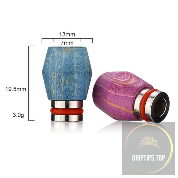 Stabilized Wood 510 Drip Tips 12#