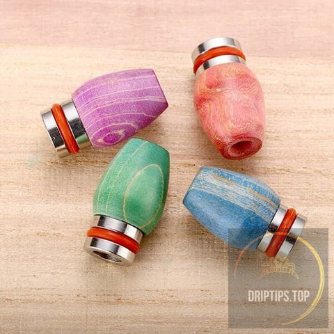 Stabilized Wood 510 Drip Tips 14#