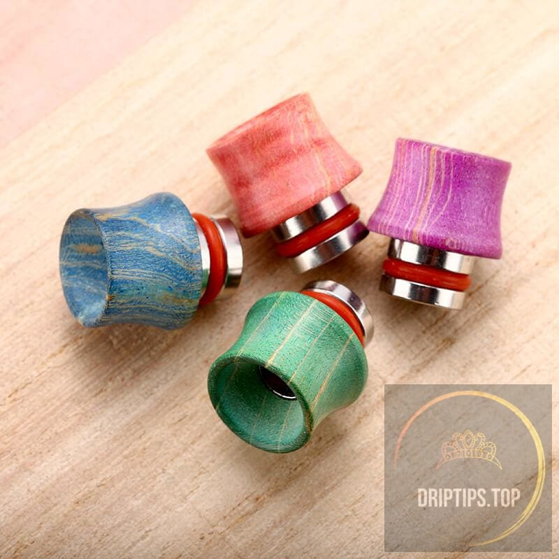 Stabilized Wood 510 Drip Tips