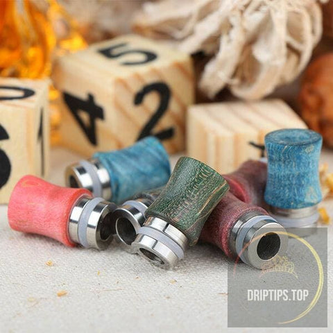 Stabilized Wood Drip Tip 4#