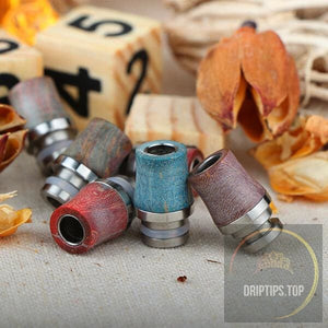 Stabilized Wood Drip Tip 5#