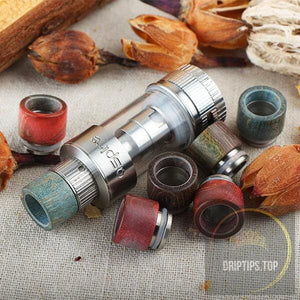 Stabilized Wood Drip Tip For Aspire Atlantis V2