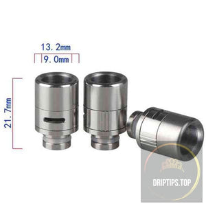 Stainless Steel Wide Bore Adjustable Airflow 510 Drip Tips