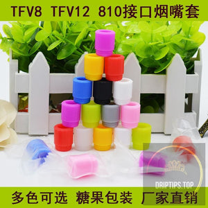 Super Bore 810 Disposable Silicone Test Drip Tips