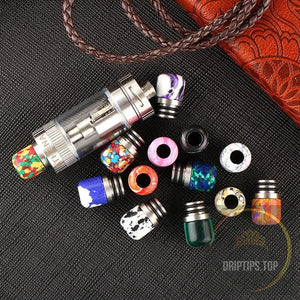 Tophus Short 510 Drip Tips With Double O Rings