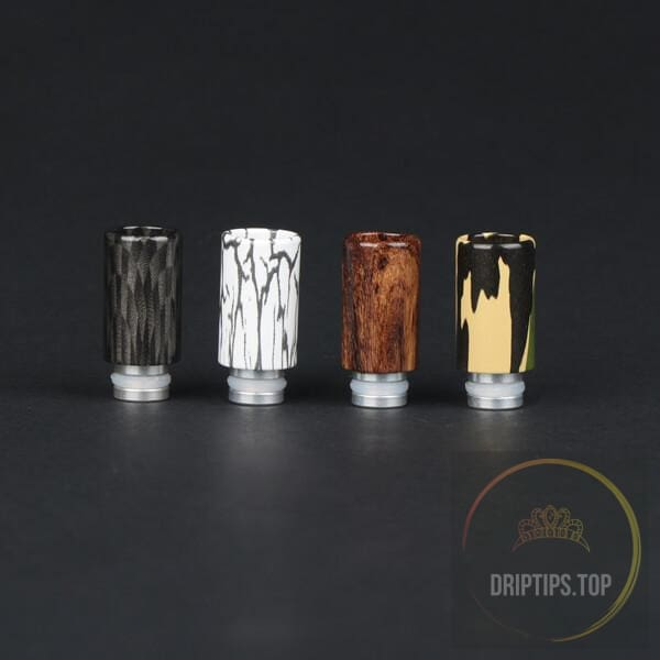 Variegated Aluminum 510 Drip Tips