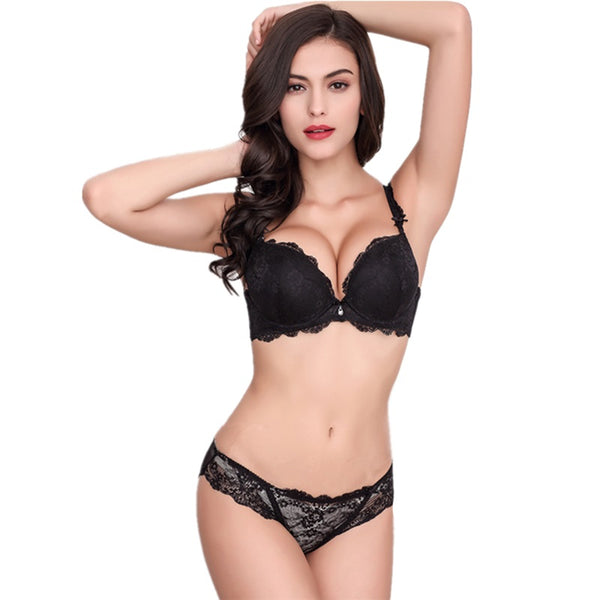 Europe Sexy Lace Bra Set
