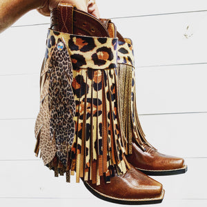 Long Fringe Boot Buckles® - Custom Build Your Own