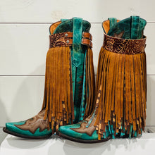 Load image into Gallery viewer, Long Fringe Boot Buckles® - Custom Build Your Own