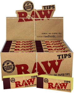 RAW Authentic Natural Refined Tips