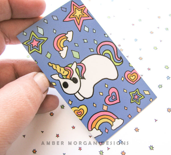 Rainbow Unicorn Magnet