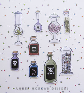 Those Potions! Sticker Flakes