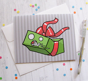Crazy Gifts Greeting Card