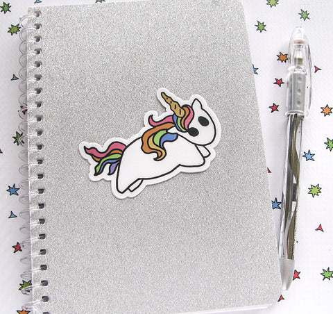 Rainbow Unicorn Vinyl Sticker