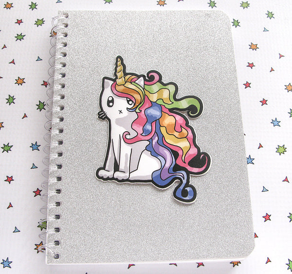 Rainbow Caticorn Vinyl Sticker