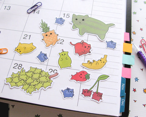 Froot Cats Sticker Flakes