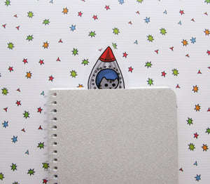 Rocket Kitty Bookmarker